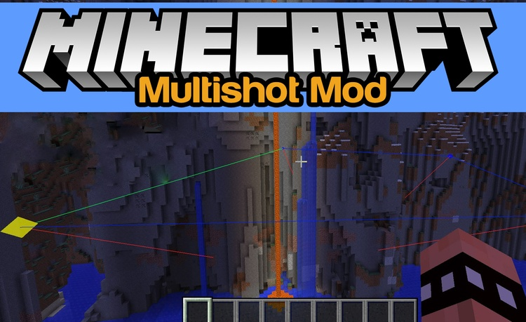 multishot-mod-1-11-21-10-2-for-minecraft Multishot Mod 1.11.2/1.10.2 for Minecraft