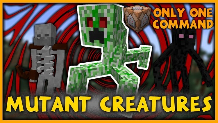 mutant-creatures-command-block-1-111-10-2 Mutant Creatures Command Block 1.11/1.10.2