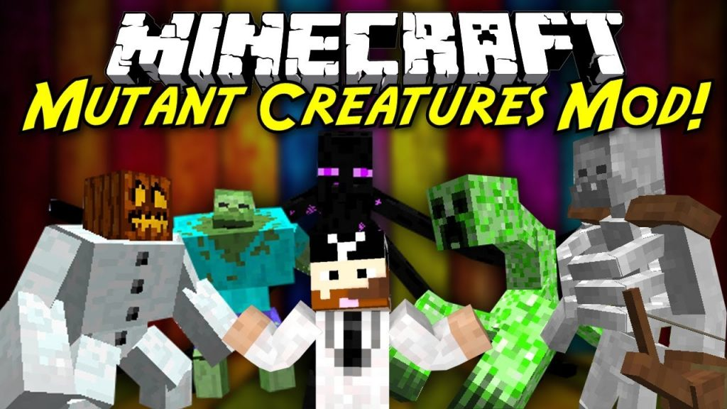 mutant-creatures-mod-1-7-10-giant-monsters Mutant Creatures Mod 1.7.10 (Giant Monsters)