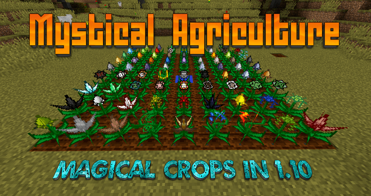 mystical-agriculture-mod-1-11-21-10-2-magical-crops-for-minecraft-6960 Mystical Agriculture Mod 1.11.2/1.10.2 – Magical Crops for Minecraft