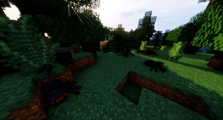 no-mob-spawning-on-trees-mod-for-minecraft-1-11-21-10-2 No Mob Spawning on Trees Mod for Minecraft 1.11.2/1.10.2