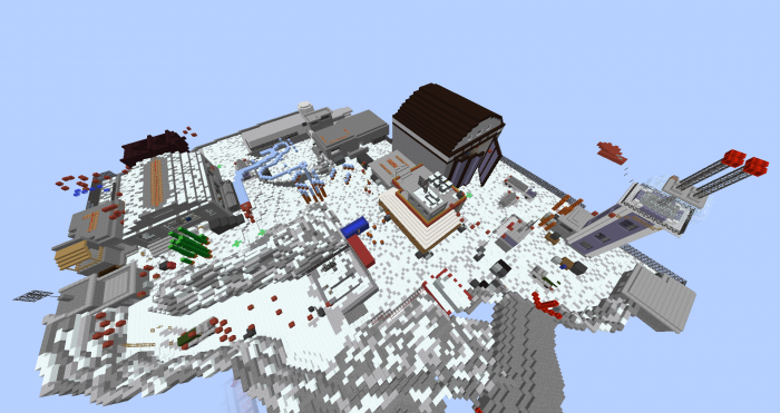 outpost-parkour-map-for-minecraft-1-11-2 Outpost Parkour Map for Minecraft 1.11.2