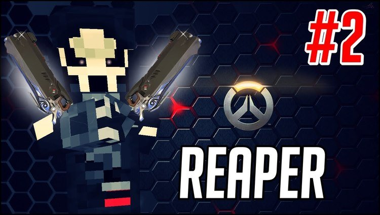overwatch-reaper-resource-pack-for-minecraft-1-11-21-10-2 Overwatch Reaper Resource Pack for Minecraft 1.11.2/1.10.2