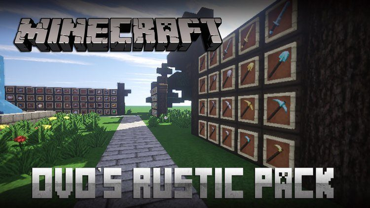 ovos-rustic-resource-pack-1-11-21-10-2 Ovo's Rustic Resource Pack 1.11.2/1.10.2
