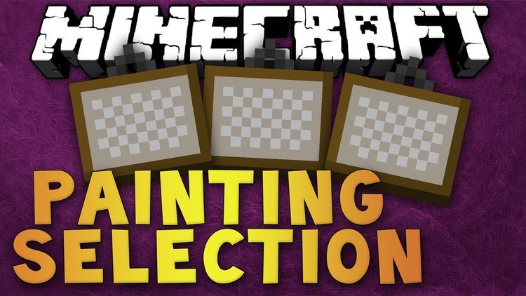 painting-selection-gui-revamped-mod-1-11-21-10-2-for-minecraft Painting Selection GUI Revamped Mod 1.11.2/1.10.2 for Minecraft