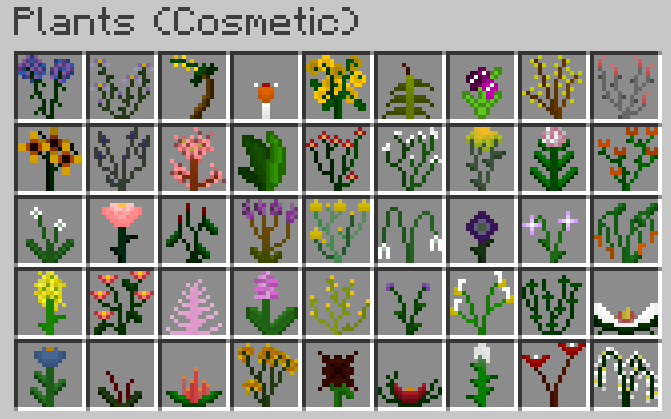 plants-mod-1-11-21-10-2-for-minecraft Plants Mod 1.11.2/1.10.2 for Minecraft