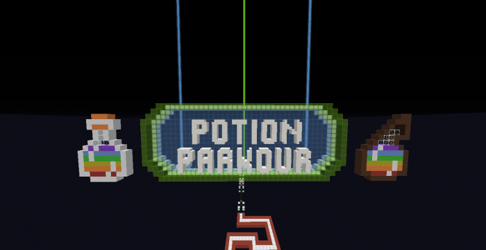 potion-parkour-map-for-minecraft-1-11-2 Potion Parkour Map for Minecraft 1.11.2