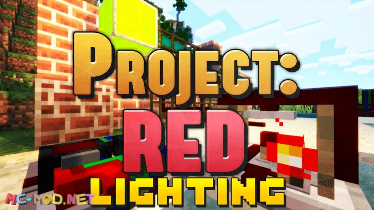 project-red-lighting-mod-1-10-2-for-minecraft Project Red – Lighting Mod 1.10.2 for Minecraft