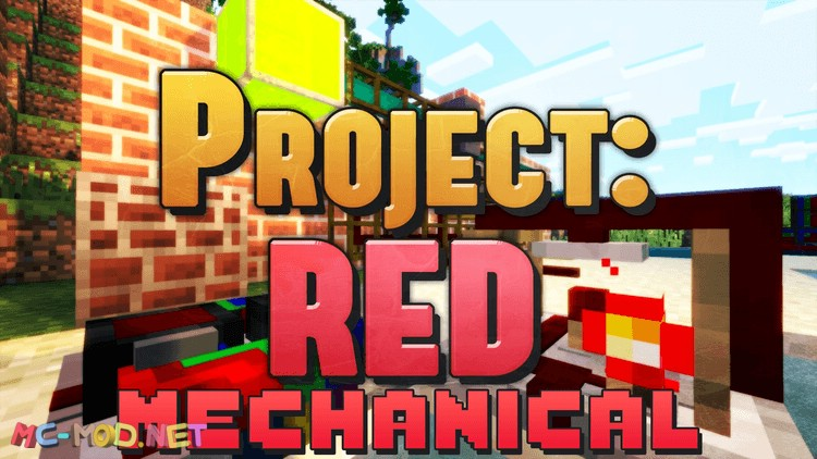 project-red-mechanical-mod-1-10-2-for-minecraft Project Red – Mechanical Mod 1.10.2 for Minecraft