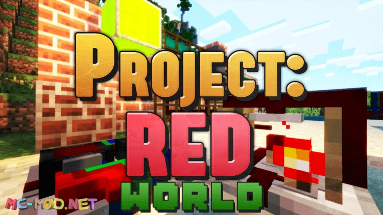 project-red-world-mod-1-10-2-for-minecraft Project Red – World Mod 1.10.2 for Minecraft