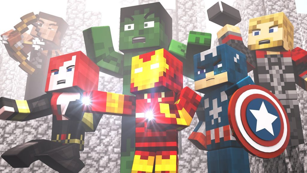 project-superhuman-mod-1-7-10-superheroes-marvel Project Superhuman Mod 1.7.10 (SuperHeroes, Marvel)