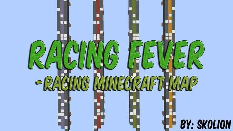 racing-fever-map-for-minecraft-1-10-2 Racing Fever Map for Minecraft 1.10.2