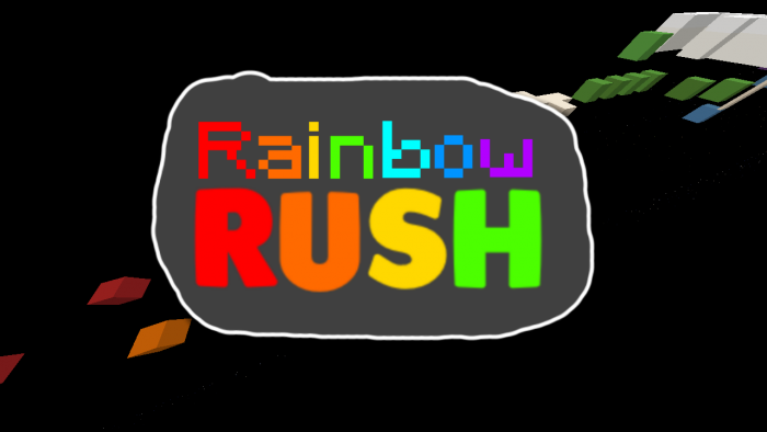 rainbow-rush-map-for-minecraft-1-11-2 Rainbow Rush Map for Minecraft 1.11.2