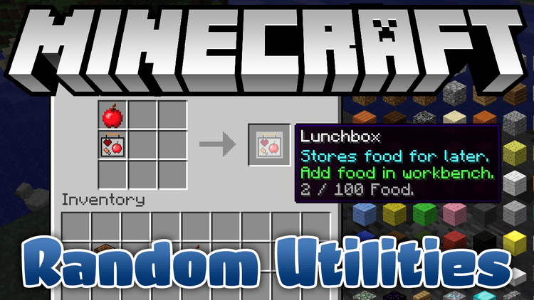 random-utilities-mod-1-11-21-10-2-for-minecraft Random Utilities Mod 1.11.2/1.10.2 for Minecraft