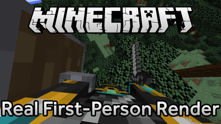 real-first-person-render-mod-1-11-21-10-2-for-minecraft Real First-Person Render Mod 1.11.2/1.10.2 for Minecraft