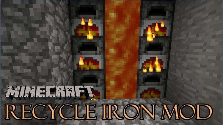 recycle-iron-mod-recycled-metal-for-minecraft-1-11-21-10-2 Recycle Iron Mod (Recycled Metal for Minecraft) 1.11.2/1.10.2