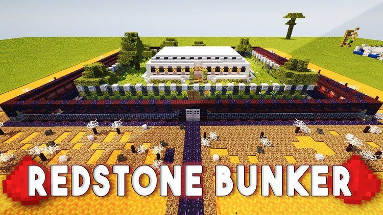 redstone-bunker-map-for-minecraft-1-111-10-2 Redstone Bunker Map for Minecraft 1.11/1.10.2