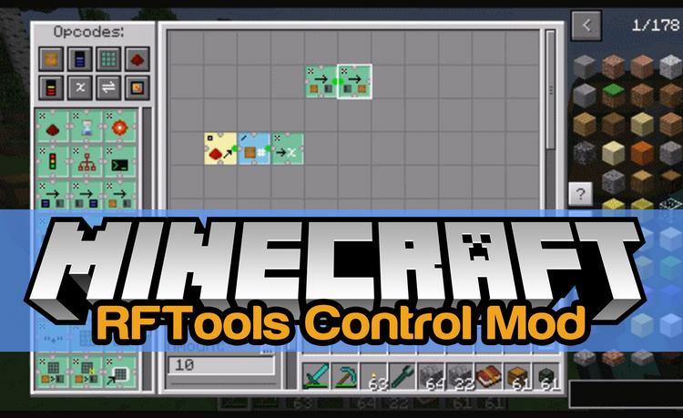 RFTools Control Mod for Minecraft Logo