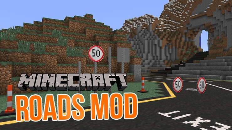 roads-mod-for-minecraft-1-11-21-10-2 Roads Mod for Minecraft 1.11.2/1.10.2