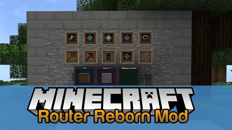 router-reborn-mod-1-11-21-10-2-for-minecraft Router Reborn Mod 1.11.2/1.10.2 for Minecraft