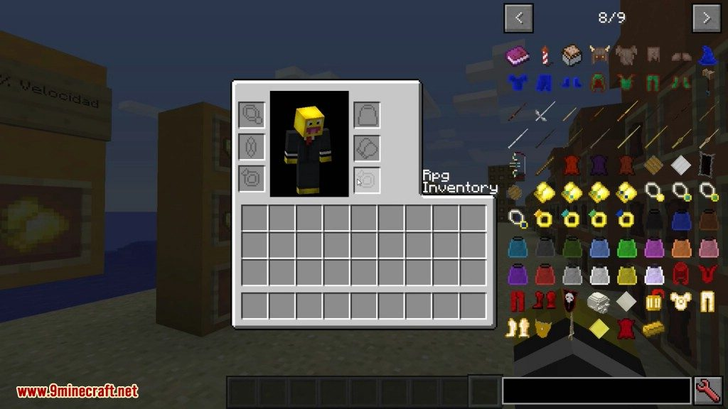 rpg-inventory-mod-1-11-21-10-2-classarmors-necklaces-616-12 Rpg Inventory Mod 1.11.2/1.10.2 (ClassArmors, Necklaces)