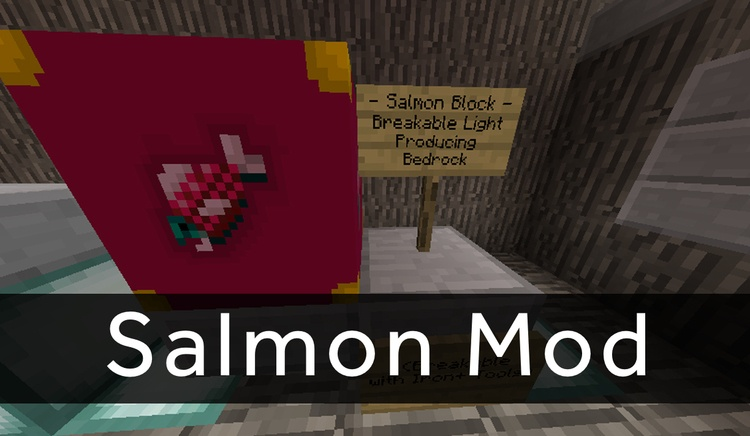 salmon-mod-1-11-21-10-2-for-minecraft Salmon Mod 1.11.2/1.10.2 for Minecraft