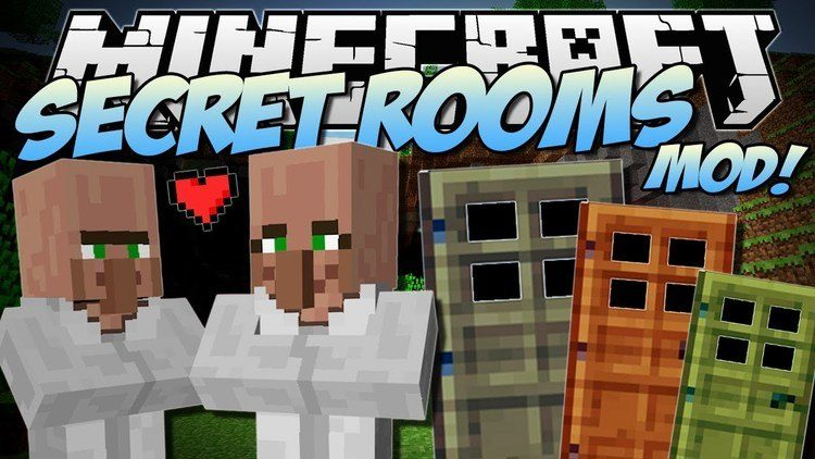 secret-rooms-mod-for-minecraft-1-11-21-10-2 Secret Rooms Mod for Minecraft 1.11.2/1.10.2