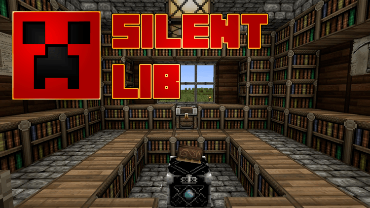 Silent Lib for Minecraft Logo