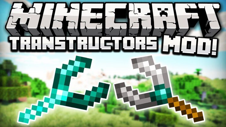 Similsax Transtructors mod for minecraft logo