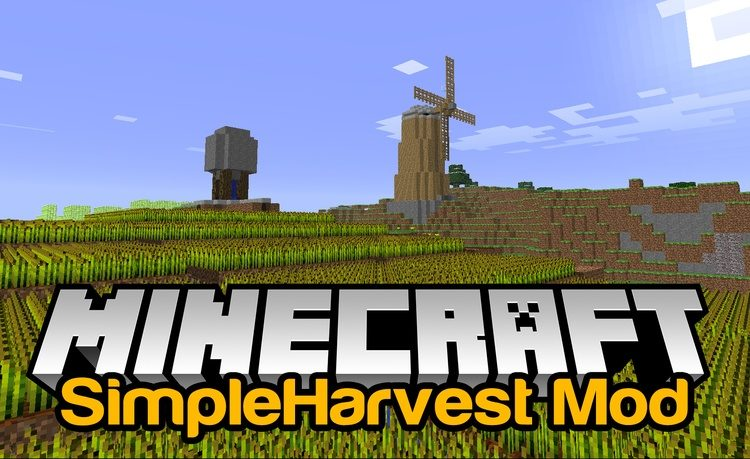 simple-harvest-mod-1-11-21-10-2-for-minecraft Simple Harvest Mod 1.11.2/1.10.2 for Minecraft