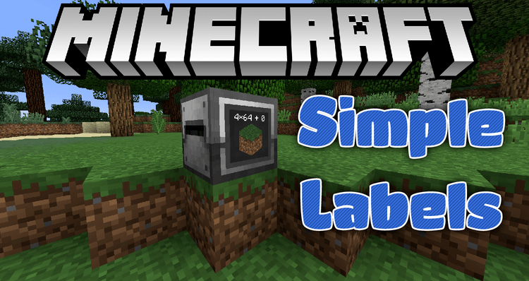 simple-labels-mod-1-11-21-10-2-for-minecraft Simple Labels Mod 1.11.2/1.10.2 for Minecraft