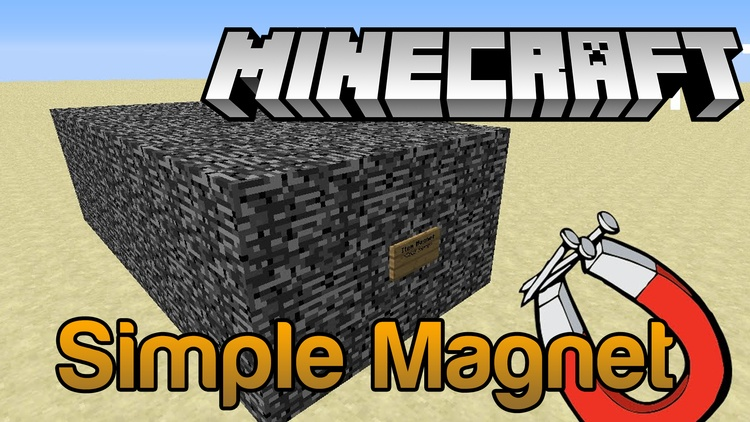 simple-magnet-mod-1-11-21-10-2-for-minecraft Simple Magnet Mod 1.11.2/1.10.2 for Minecraft