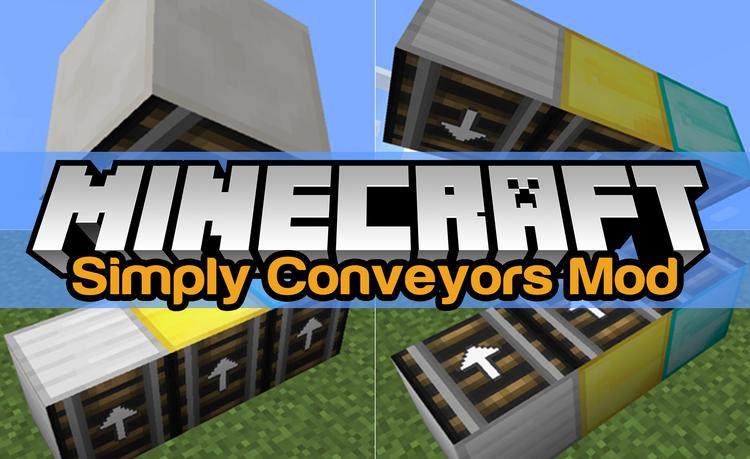 simply-conveyors-mod-1-11-21-10-2-for-minecraft Simply Conveyors Mod 1.11.2/1.10.2 for Minecraft