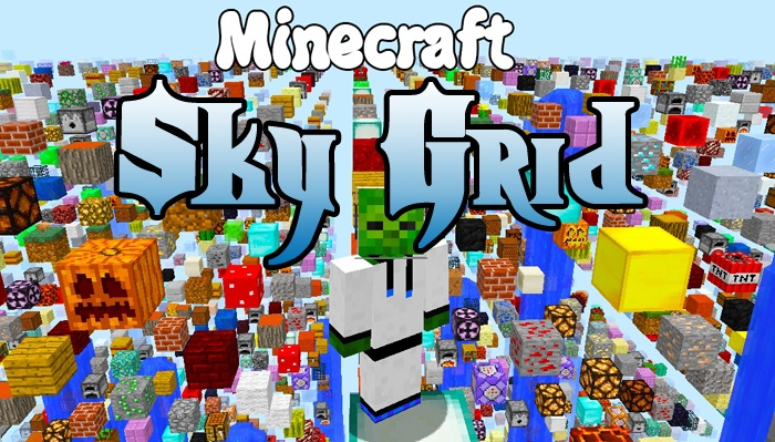 sky-grid-mod-1-11-21-10-2-for-minecraft Sky Grid Mod 1.11.2/1.10.2 for Minecraft