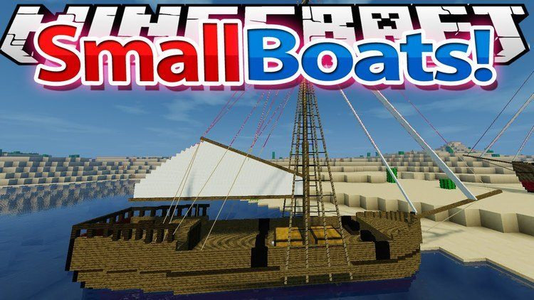 small-boats-mod-for-minecraft-1-11-21-10-2 Small Boats Mod for Minecraft 1.11.2/1.10.2