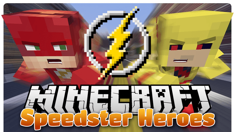 speedster-heroes-mod-become-flash-in-minecraft-1-11-21-10-2 Speedster Heroes Mod (Become Flash in Minecraft) 1.11.2/1.10.2