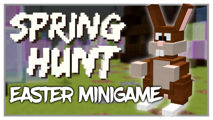 spring-hunt-map-for-minecraft-1-11-2 Spring Hunt Map for Minecraft 1.11.2