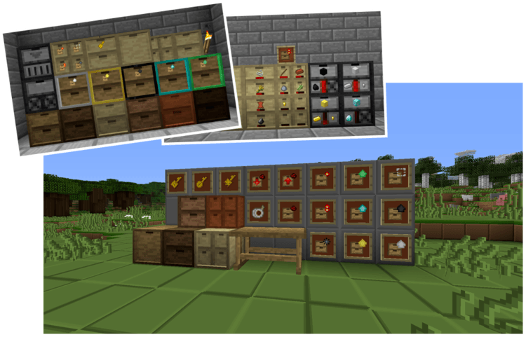 storage-drawers-mod-1-11-21-10-2-for-minecraft Storage Drawers Mod 1.11.2/1.10.2 for Minecraft
