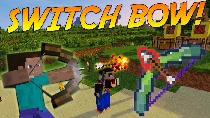 switch-bow-mod-for-minecraft-1-11-21-10-2 Switch-Bow Mod for Minecraft 1.11.2/1.10.2