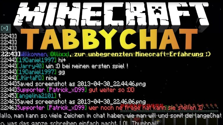 Tabby Chat 2 mod for minecraft logo