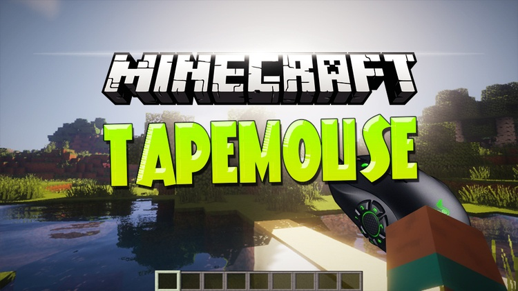 tape-mouse-mod-1-11-21-10-2-for-minecraft Tape Mouse Mod 1.11.2/1.10.2 for Minecraft
