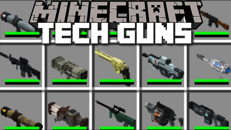 tech-guns-mod-1-7-10-death-rays-and-nuclear-weapons Tech Guns Mod 1.7.10 – DEATH RAYS AND NUCLEAR WEAPONS!