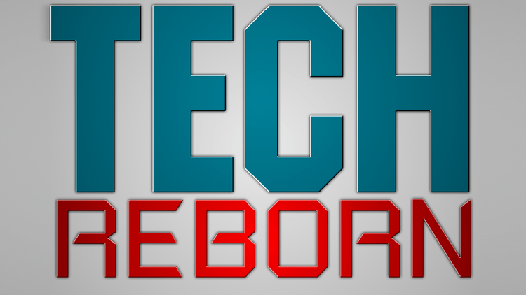 Tech Reborn mod for minecraft logo