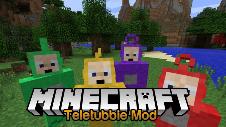 teletubbie-mod-1-11-21-10-2-for-minecraft Teletubbie Mod 1.11.2/1.10.2 for Minecraft