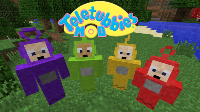 teletubbies-mod-for-minecraft-1-11-21-10-2 Teletubbies Mod for Minecraft 1.11.2/1.10.2