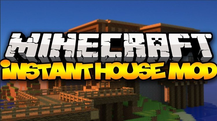 the-instant-house-mod-1-11-21-10-2-for-minecraft The Instant House Mod 1.11.2/1.10.2 for Minecraft