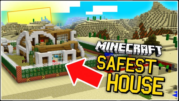 the-worlds-safest-redstone-house-for-minecraft The World's Safest Redstone House for Minecraft