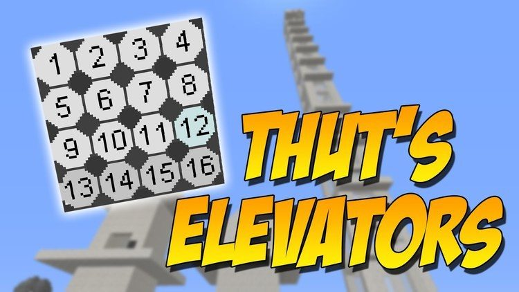 thuts-elevator-mod-for-minecraft-1-11-21-10-2 Thut's Elevator Mod for Minecraft 1.11.2/1.10.2