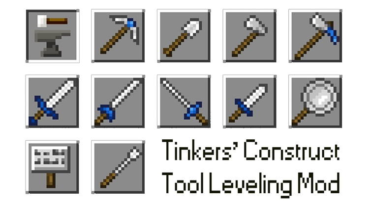 tinkers-construct-tool-leveling-mod-for-minecraft-1-11-21-10-2 Tinkers' Construct Tool Leveling Mod for Minecraft 1.11.2/1.10.2