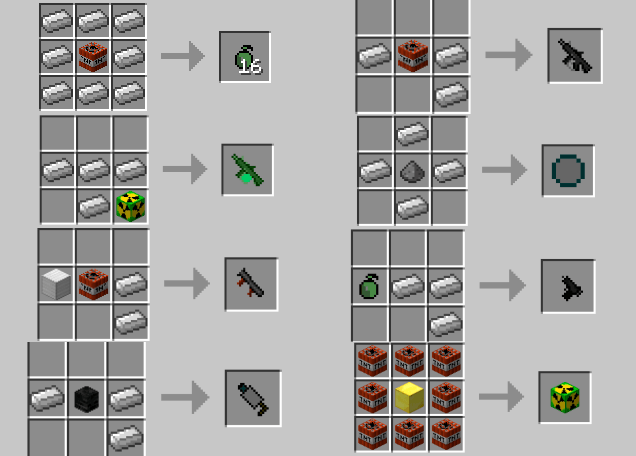 troll-guns-mod-1-11-21-10-2-for-minecraft Troll Guns Mod 1.11.2/1.10.2 for Minecraft